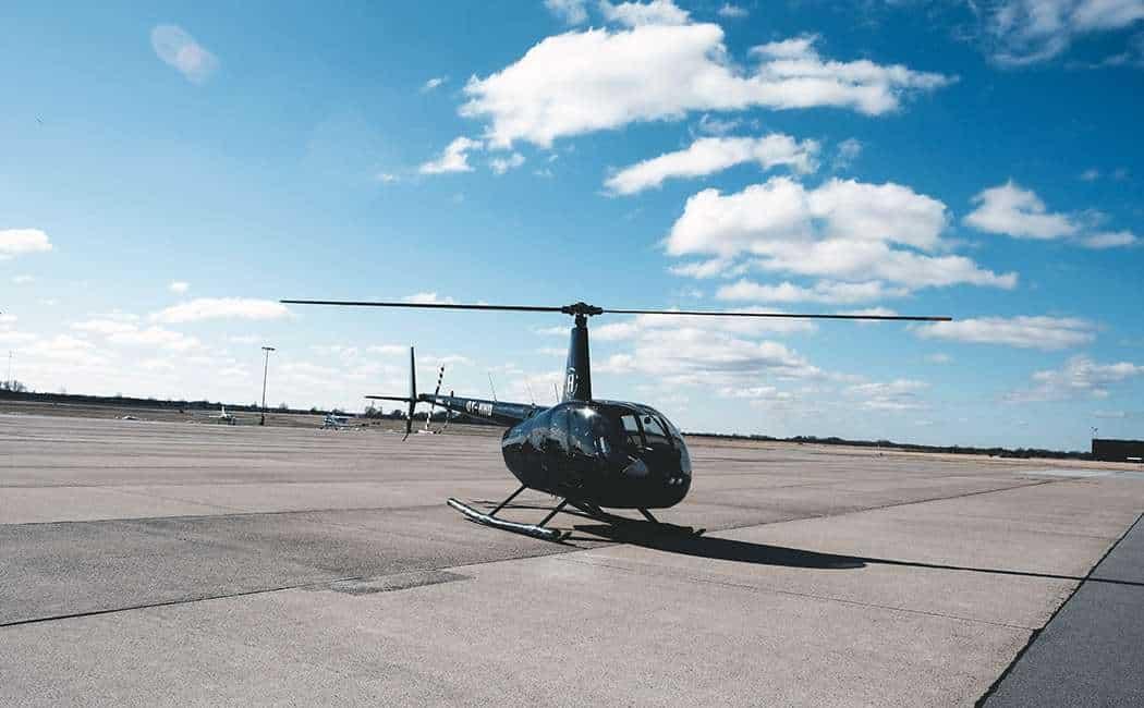 Helikoptertur Sjælland