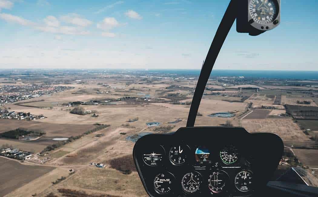 Helikoptertur - Sjælland